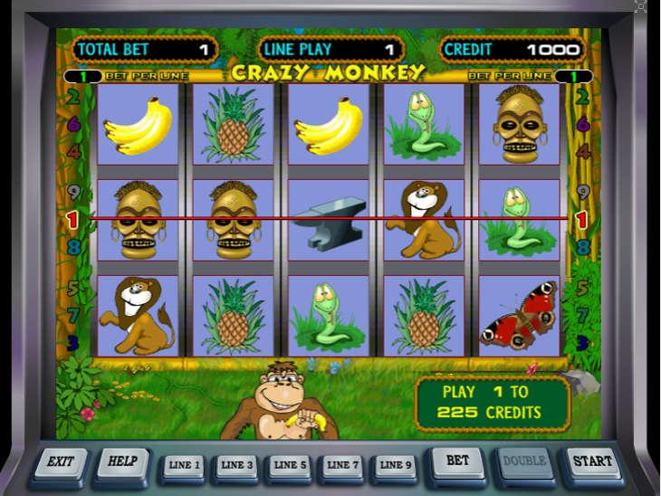Игра сумашедшая обезьяна игровые автоматы игровые автоматы ростов аренда