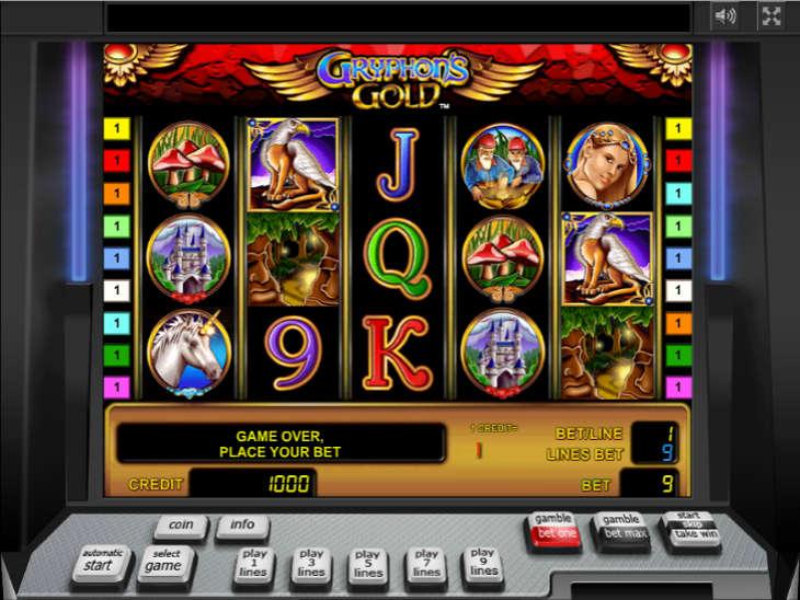 gryphons gold игровой автомат
